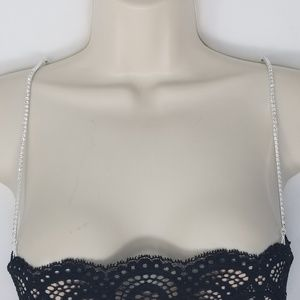 Brazilian Bra Straps Intimates & Sleepwear - Brazilian Bra Strap Replacement silver chain